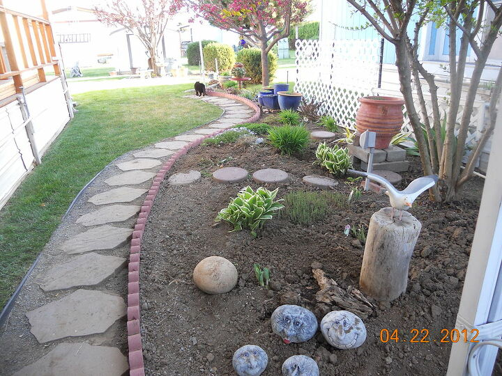 q posting my little garden help new thread, gardening, so neat and tidy