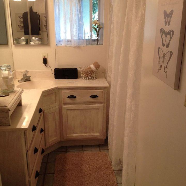 100 shabby farmhouse bathroom makeover, bathroom ideas, home decor
