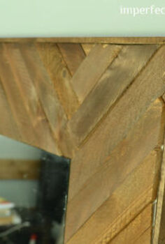 diy wood mirror frame, diy, woodworking projects