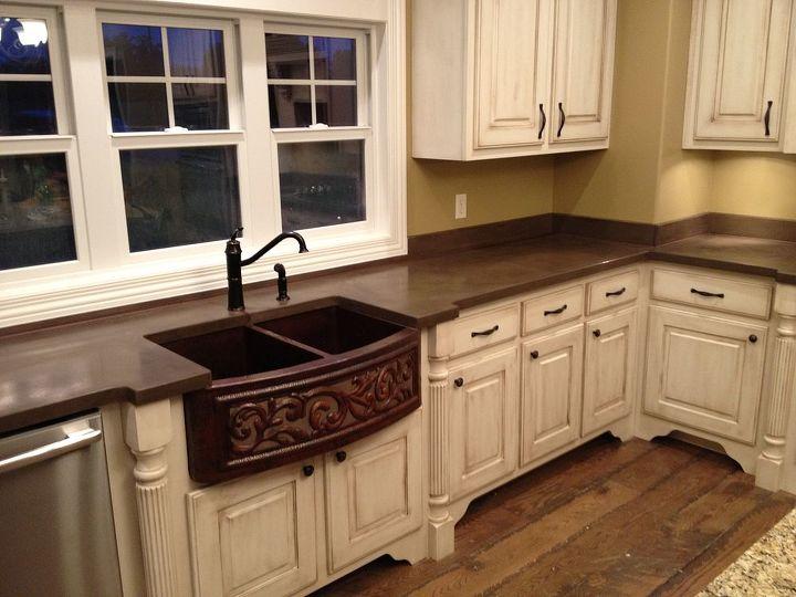 Concrete Countertops Amp Backsplash Home Decor Kitchen