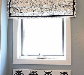 Easy Fake Roman Shade Tutorial, Crafts, Reupholster, Window Treatments,  Roman Shade In