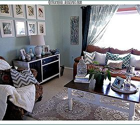 Design On A Dime Living Room Stage 3, Home Decor, Living Room Ideas,