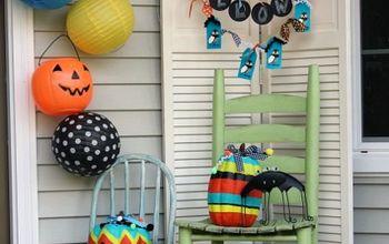 Happy Halloween Front Porch
