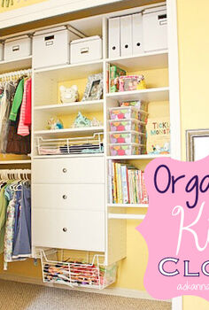 organized custom kid s closet reveal, closet, organizing