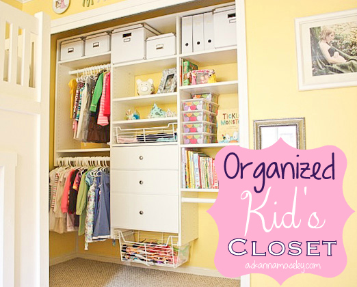 Organized Custom Kid S Closet Reveal Organizing