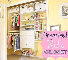 Perfect Organized Custom Kid S Closet Reveal, Closet, Organizing