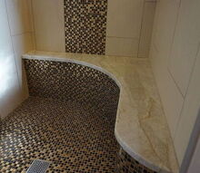 stunning mosaic master bath remodel in alpharetta ga, bathroom ideas, home decor, home improvement, tiling, See this bath and more in our bath remodeling gallery