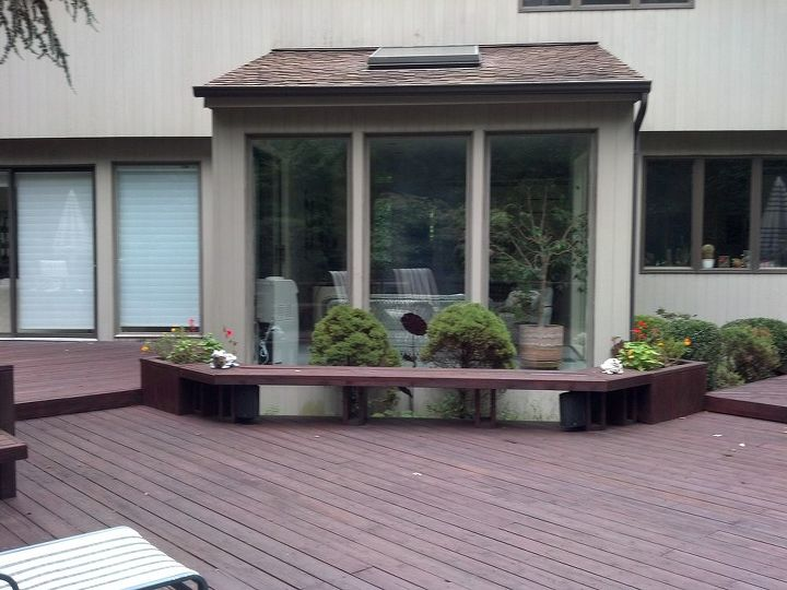Classic Deck and Patio Company bench