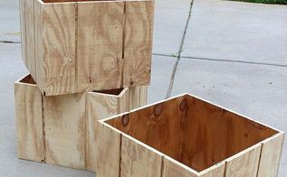 how to make a wood planter box, gardening, woodworking projects