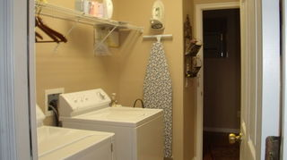 q aptimizing laundry room makeover and want to stack washer dryer any drawbacks, laundry rooms