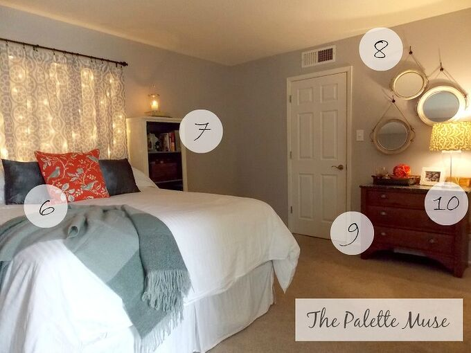 master bedroom makeover on a budget with tips and diy tricks, bedroom ideas, home decor