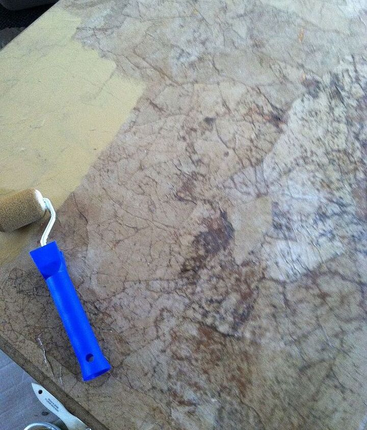 coffee table with animal print gold paint and diy chalk paint, chalk paint, painted furniture
