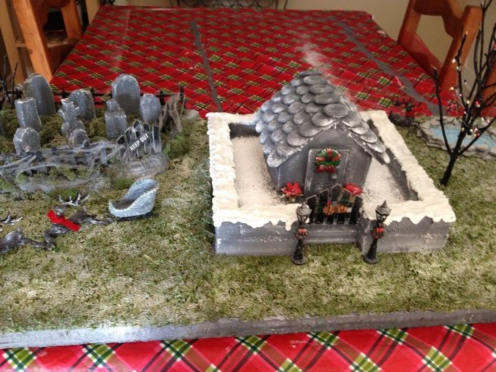 Haunted Christmas Village