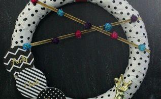 diy party wreath, crafts, wreaths