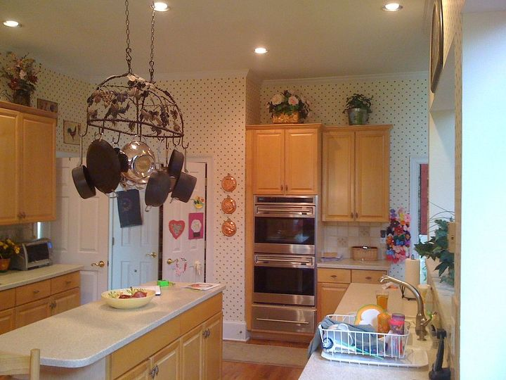 Beautiful Two Tone Kitchen Hometalk