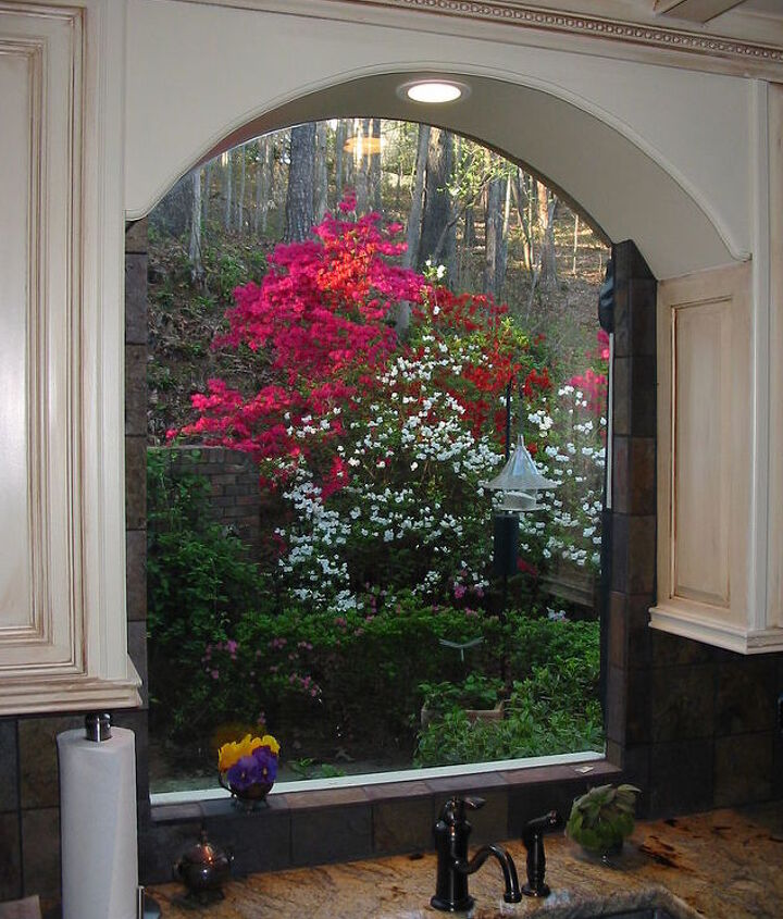 Infinity window for the kitchen. Bring the outside into your home.