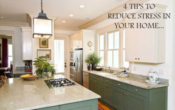 Less Stress: Tips to a Clean Home!