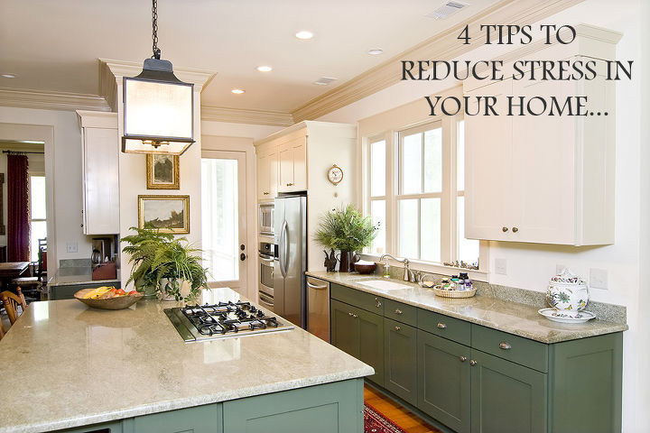 less stress tips to a clean home, cleaning tips, Did you know that a messy home is proven to add stress