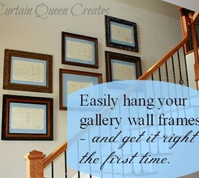 Arrange And Hang Your Gallery Wall The Easy Way, Diy, Home Decor, In
