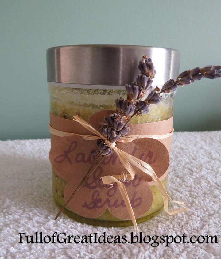 diy sugar scrub easy gifts on a budget, cleaning tips, spas