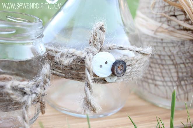pretty lil jars, crafts, home decor, mason jars