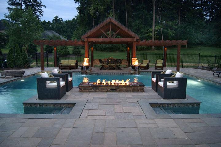 outstanding pools and spas 2013, outdoor living, pool designs, spas, Aquavisions Mechanicsburg PA