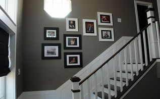 1 photo wall template, home decor, wall decor, Step 5 Remove the contact paper and hang your pics That s it