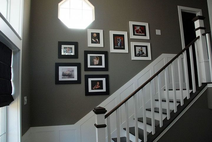 Step 5: Remove the contact paper and hang your pics. That's it!