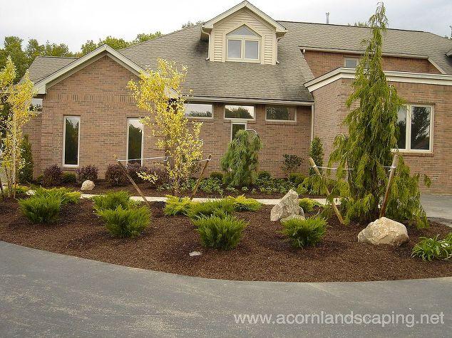front yard landscape designs ideas landscape porches front yard landscape designs ideas monroe - Landscape Design Ideas For Front Yards