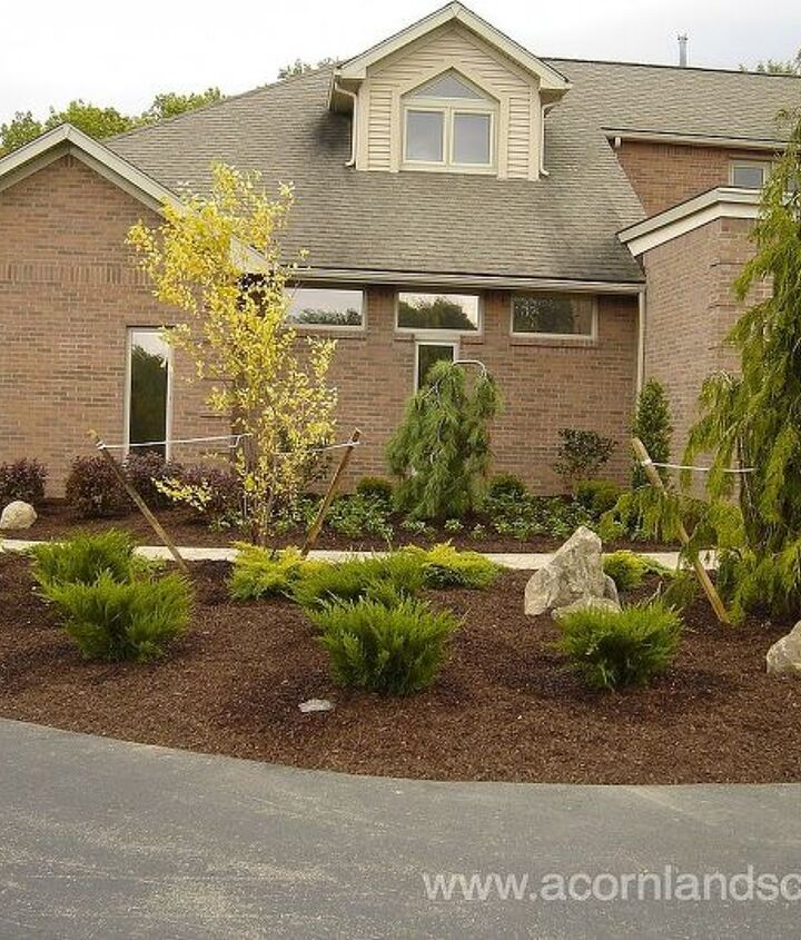 Front Yard Landscape Designs, Ideas, Monroe County Rochester NY, Front Yard Landscape Designer, Front Yard Landscaping, Front Yard Walkways, Front Yard Landscape Contractor, Front Yard Design Installations, Front Entrance Gardens