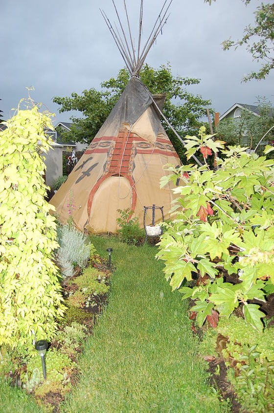 view of Tipi