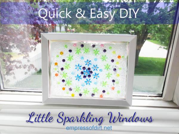 Make Your Own Little Sparkling Windows   Hometalk