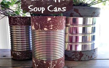 Diy Paint Can Herb Garden Hometalk