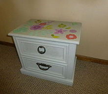 so easy a 5 yr old can do it, chalk paint, painted furniture, Finished Nice work Lulu