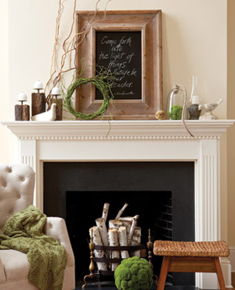 Earthy Mantel
