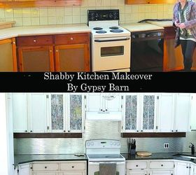 Shabby Chic Kitchen Makeover, Home Decor, Home Improvement, Kitchen  Backsplash, Kitchen Design Part 72