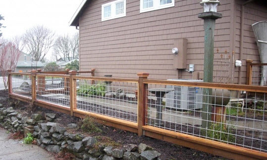 q hog wire fence design construction resources, diy, fences, landscape, woodworking projects