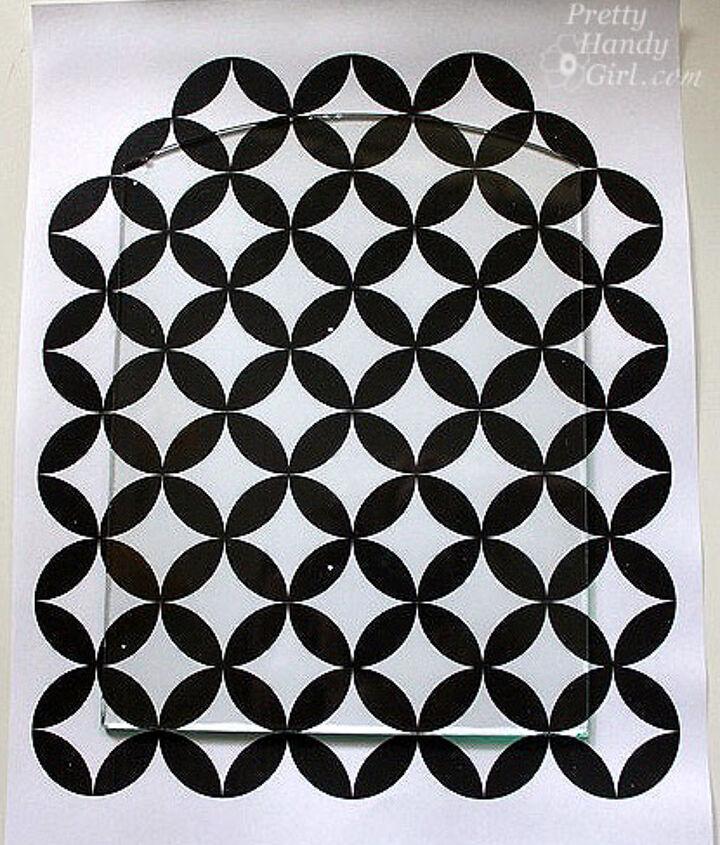 Moorish circle pattern printout to create the stencil