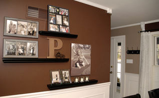 dining room gallery wall, home decor, paint colors, wall decor, Here s a shot of the whole display