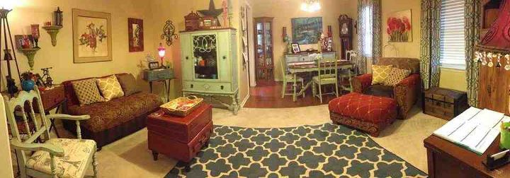 painted dining set, home decor, living room ideas, painted furniture