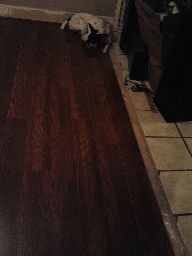 click lock laminated flooring, diy, flooring, how to
