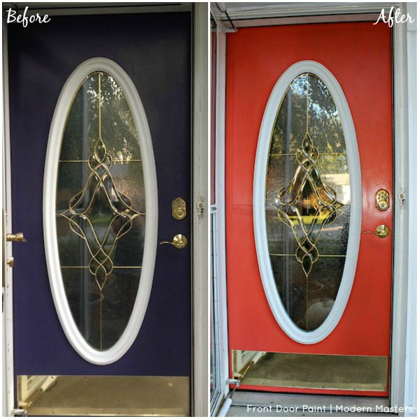 transform your front door with modern masters front door paint, doors, painting