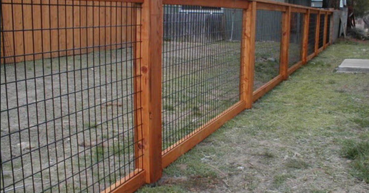 Hog Wire Fence Design Construction Resources Hometalk
