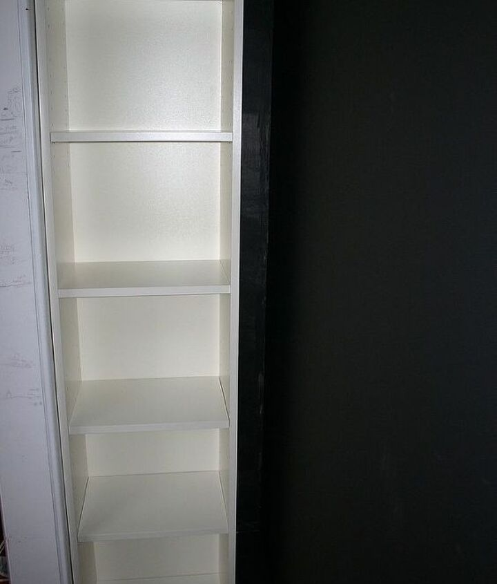 IKEA Billy bookcase for some floor to celling storage