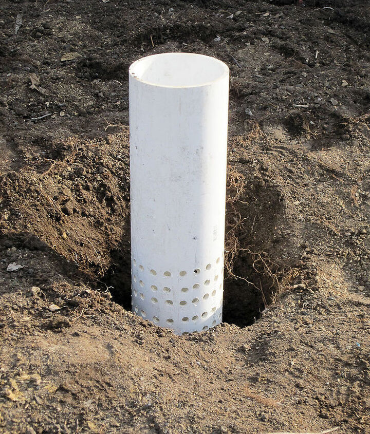 Set pipe in place & backfill.