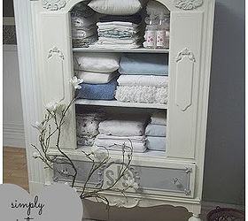 Antique China Cabinet To Linen Chest, Chalk Paint, Kitchen Cabinets,  Painted Furniture,