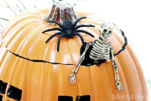 Haunted House Pumpkin.