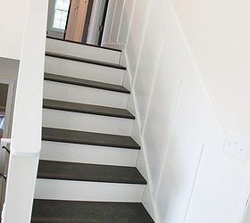 Update Old Stairs With Painted Pine Treads And New Risers, Diy, How To,