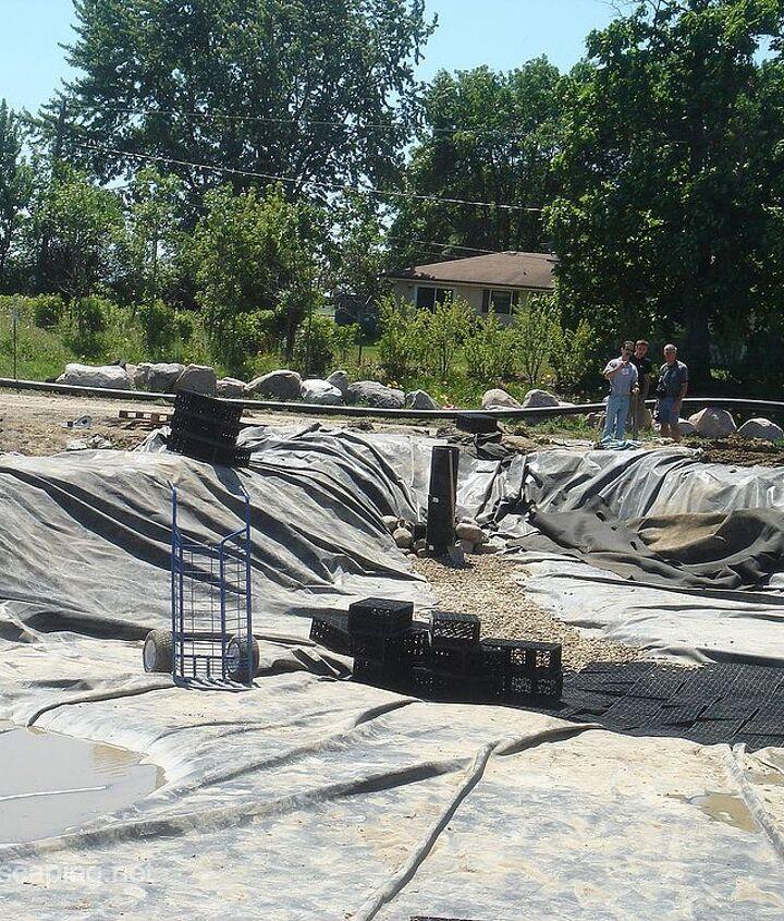 Koi Pond Construction, Rochester NY