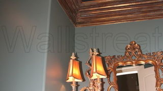 is paintable wallpaper a good solution to dress up a ceiling, paint colors, painting, This one is over the whole ceiling